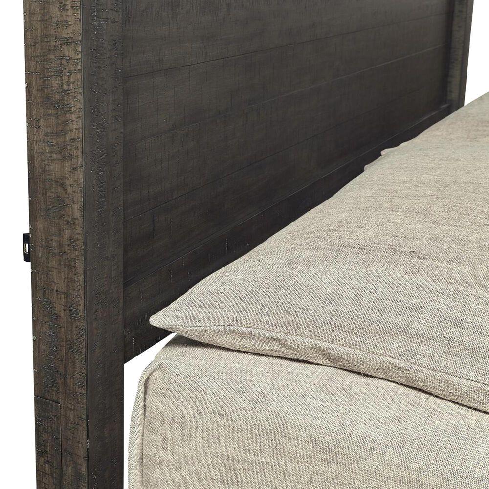 Riva Ridge Mill Creek 5 Piece Twin Storage Bed Set with 2-Drawer Nightstand in Carob, , large
