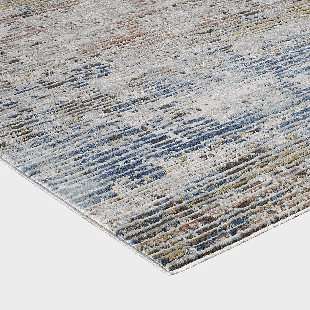 """Central Oriental Orient Darindan 3821.81 6'7"""" x 9'2"""" Ivory and Grey Area Rug, , large"""