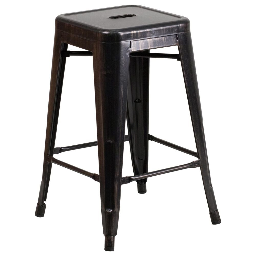 """Flash Furniture 24"""" Counter Stool in Gold, , large"""
