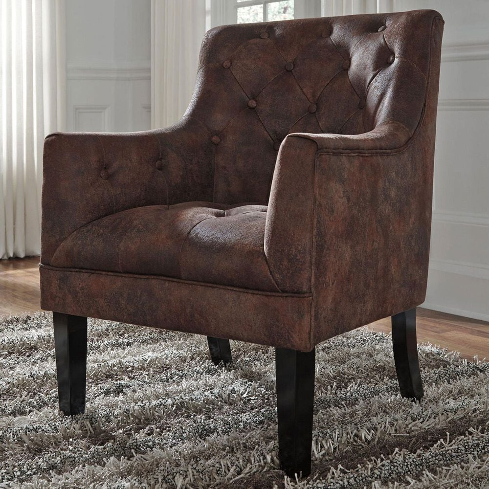 Signature Design by Ashley Accent Chair in Mahogany, , large
