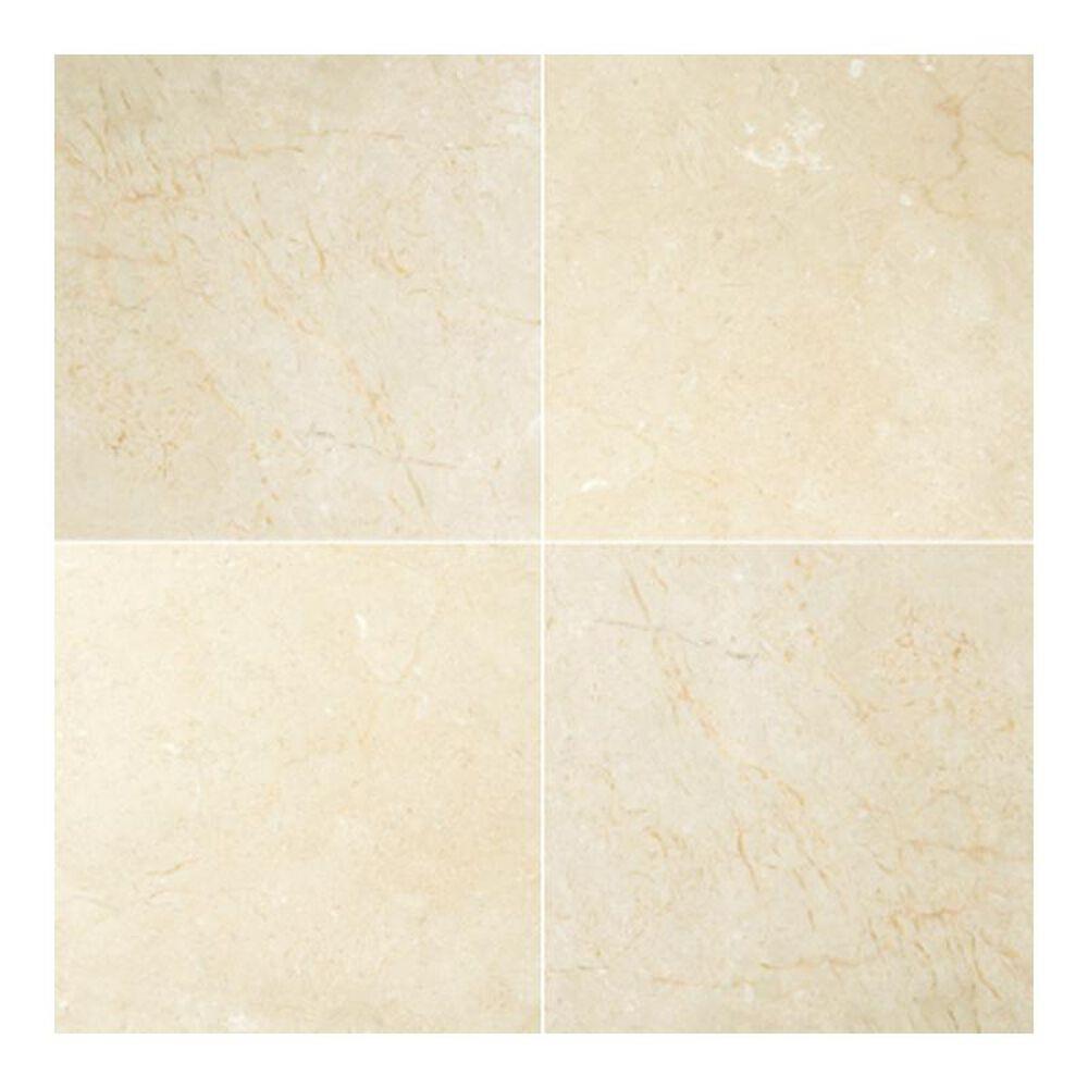 "Emser Crema Marfil Polished Classico 18"" x 18"" Natural Stone Tile, , large"