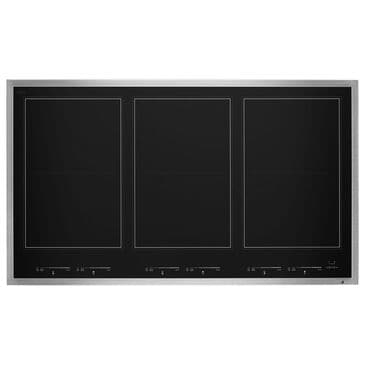 """Jenn-Air Lustre 36"""" Induction Flex Cooktop in Black Stainless Steel, , large"""