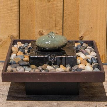 Kenroy Zen Table Fountain in Two Toned Bronze, , large