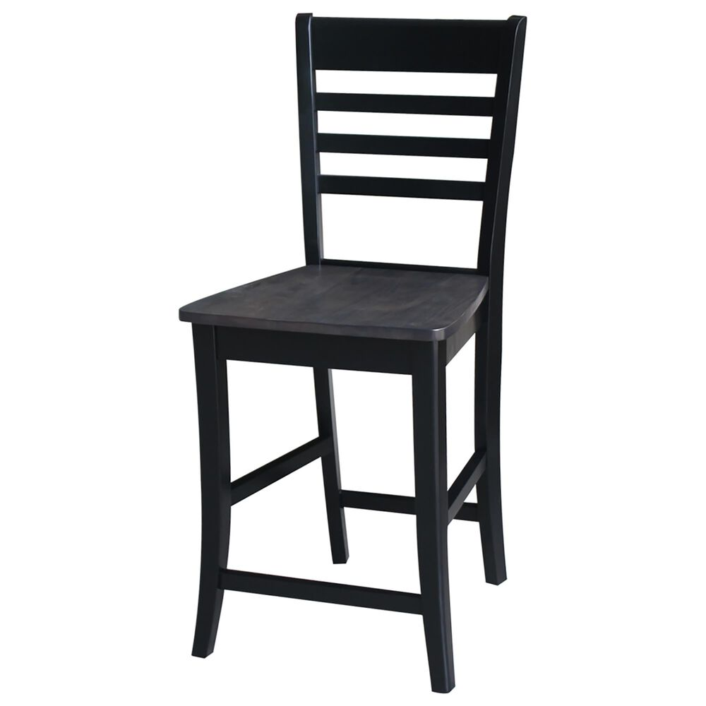 """International Concepts Cosmo 24"""" Counter Stool in Coal, , large"""