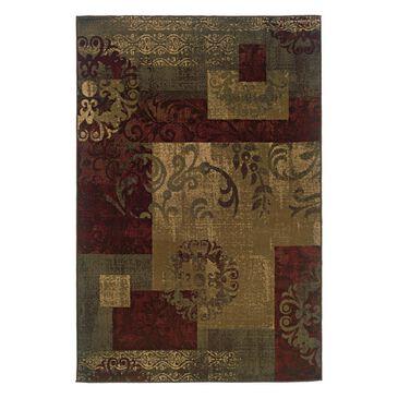 "Oriental Weavers Tybee 851U6 1'10"" x 2'10"" Green Scatter Rug, , large"