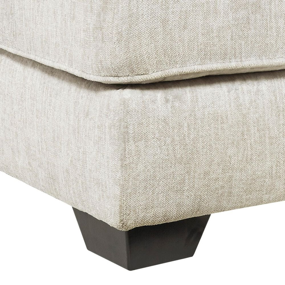 Signature Design by Ashley Rawcliffe Oversized Accent Ottoman in Parchment, , large