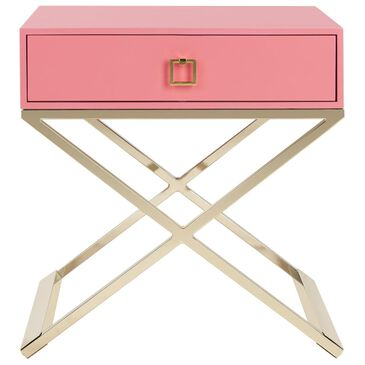 Safavieh Zarina End Table in Pink, , large