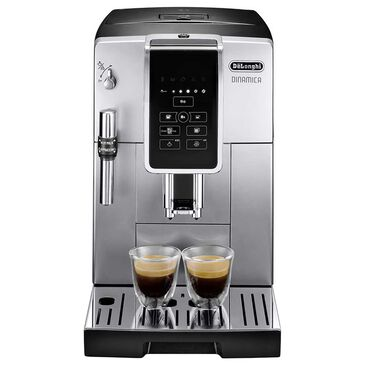 Delonghi Dinamica Automatic Coffee and Espresso Machine in Silver, , large