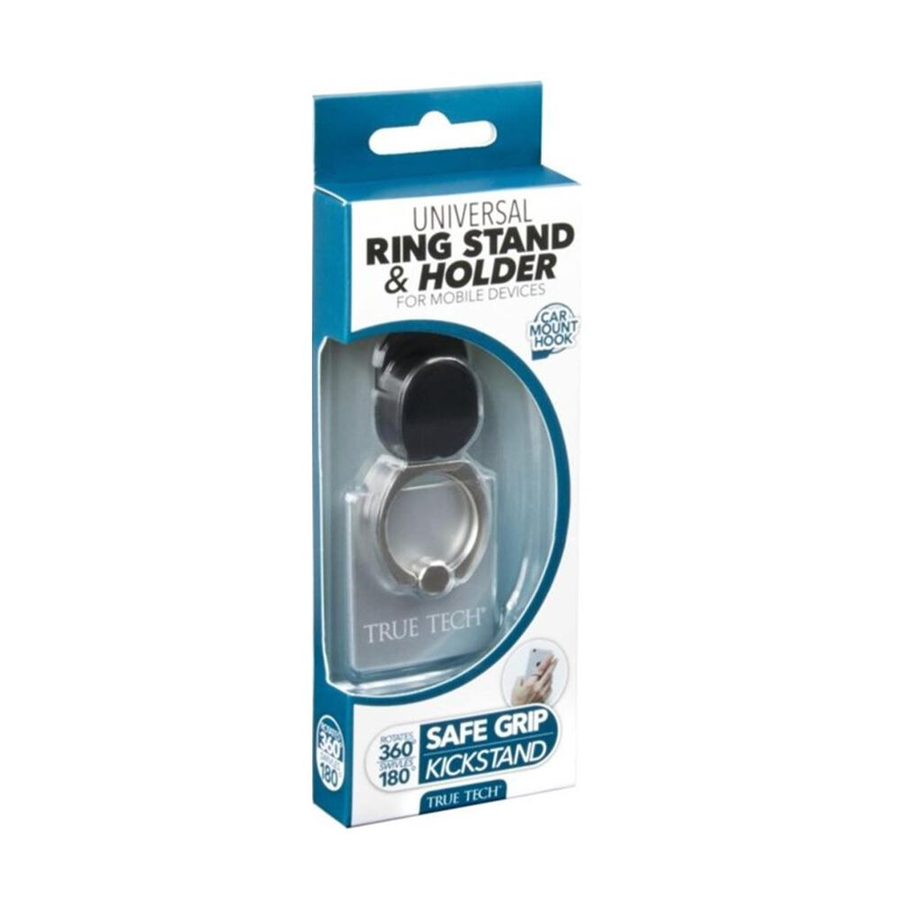 True Tech Universal Ring Stand and Holder for Mobile Devices, , large