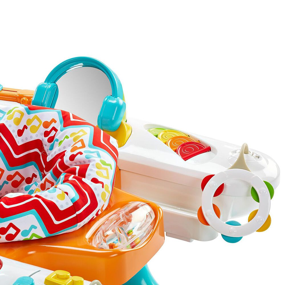 Fisher-Price 4-In-1 Step and Play Piano Stationary Walker, , large