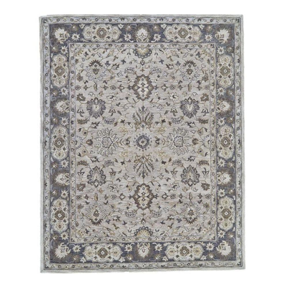 Feizy Rugs Eaton 8399F 2' x 3' Gray Scatter Rug, , large