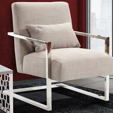 Blue River Skyline Accent Chair in Gray, , large
