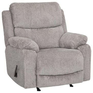 Moore Furniture Dayton Rocker Recliner in Nucleus Fog, , large