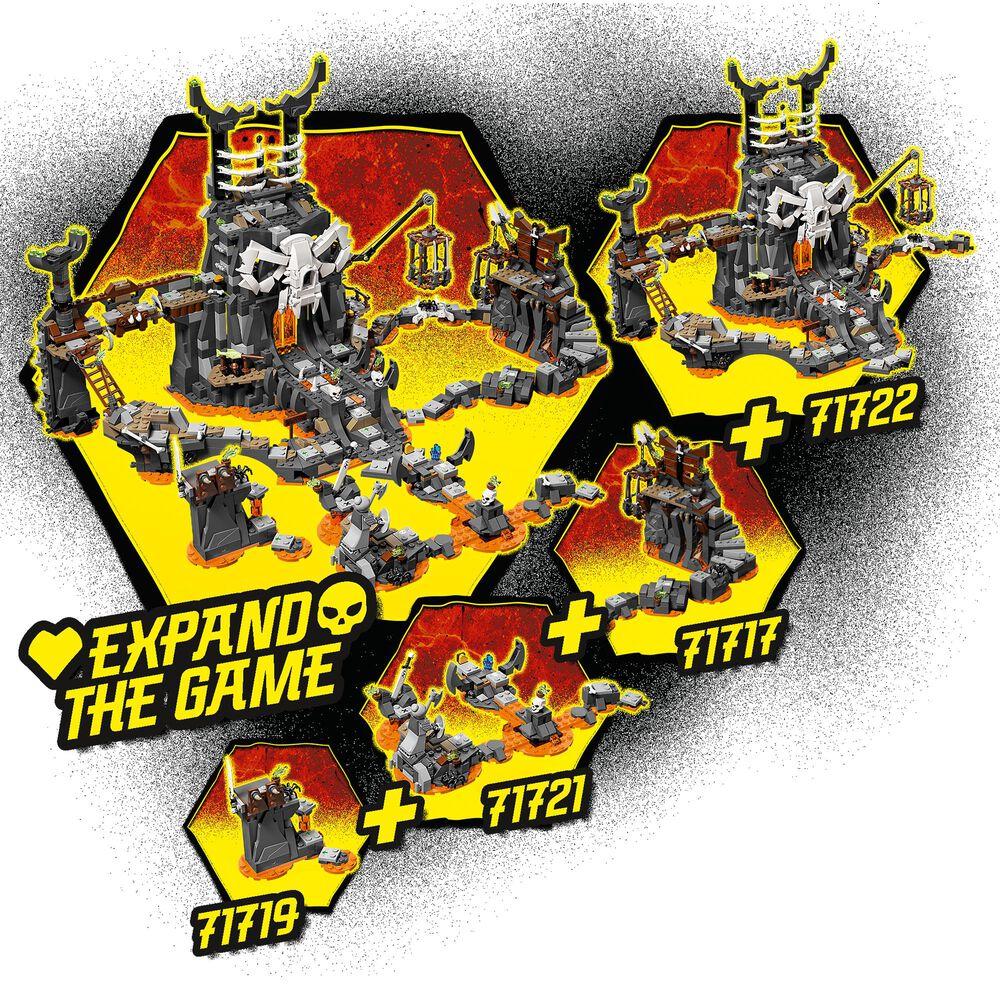 LEGO Ninjago Skull Sorcerer's Dragon Building Set, , large