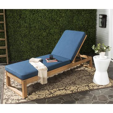Safavieh Solano Sunlounger in Navy, , large