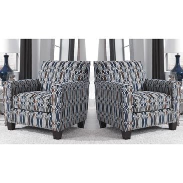 Signature Design by Ashley Creeal Heights Accent Chair in Ink - Set of 2, , large