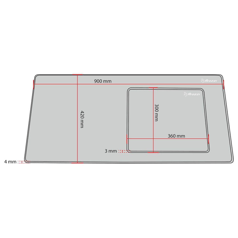 Arozzi Zona Mousepad 360x300mm, , large