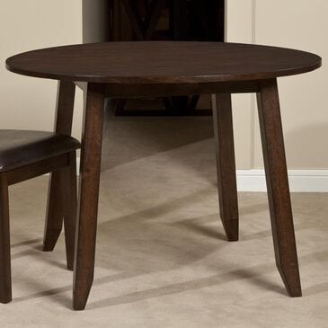 "Hawthorne Furniture Kona 42"" Drop Leaf Table in Brushed Raisin - Table Only, , large"