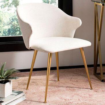 Safavieh Edmond Arm Chair in Cream, , large