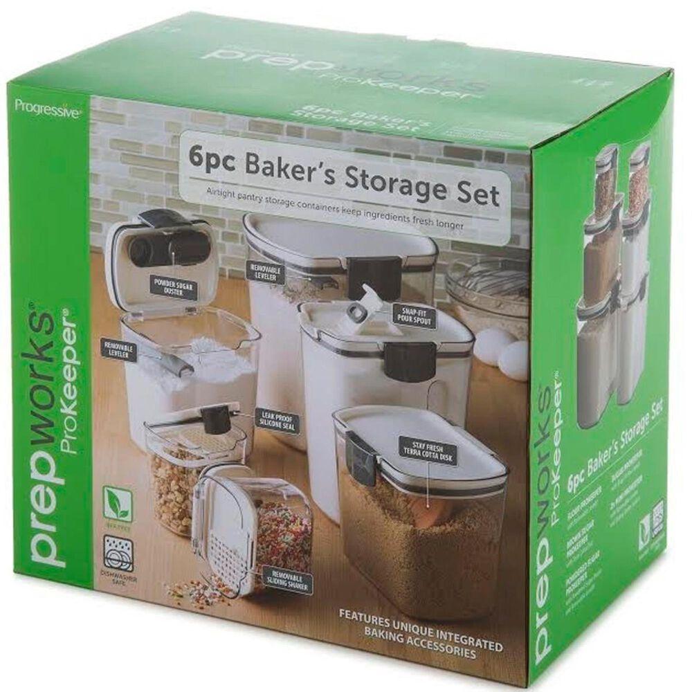 Progressive PrepWorks ProKeeper 6 Piece Bakers Storage Set , , large