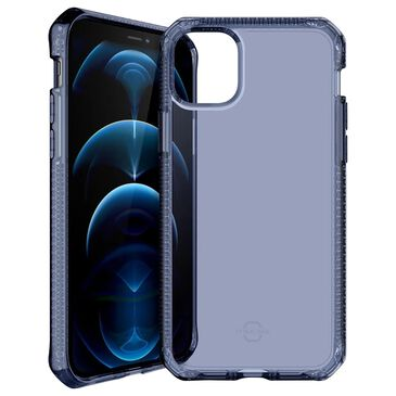 ITSkins Spectrum Clear Case for iPhone 12/12 Pro in Deep Blue, , large