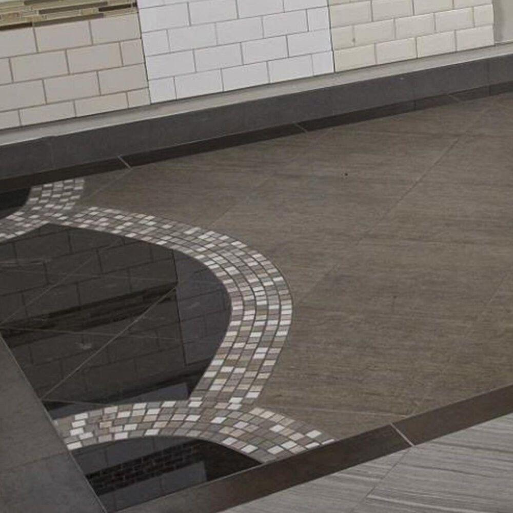 "MS International Castle Beige 12"" x 12"" Glass and Stone Mosaic Sheet, , large"