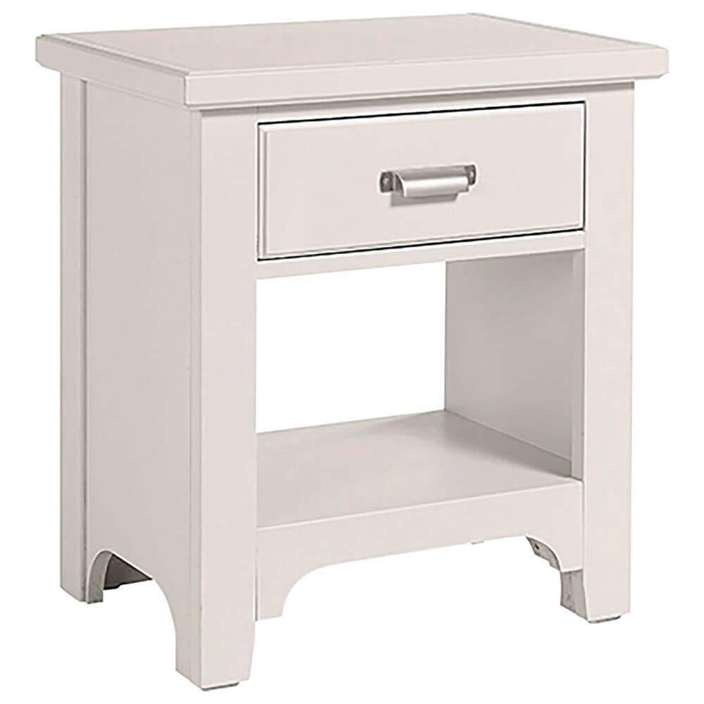 Viceray Collections Bungalow 1 Drawer Nightstand in Lattice, , large