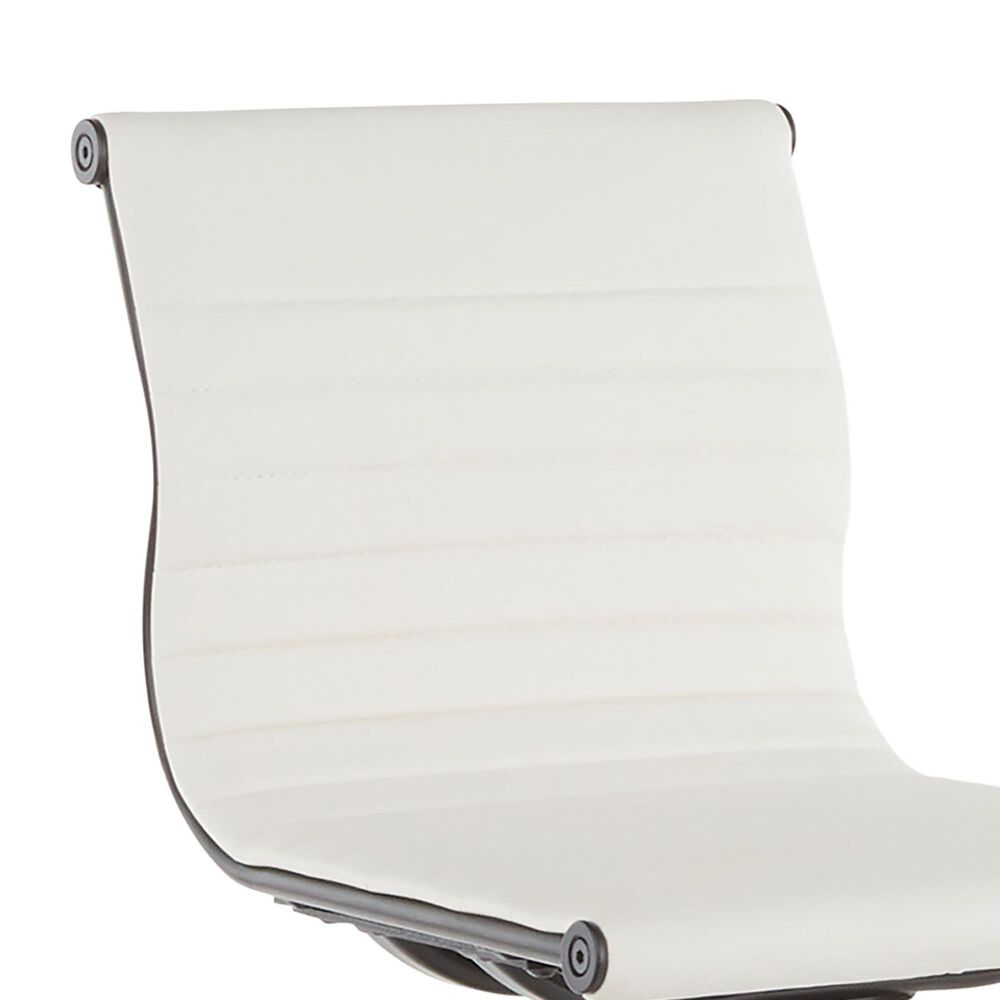 Lumisource Masters Barstool in White/Black, , large