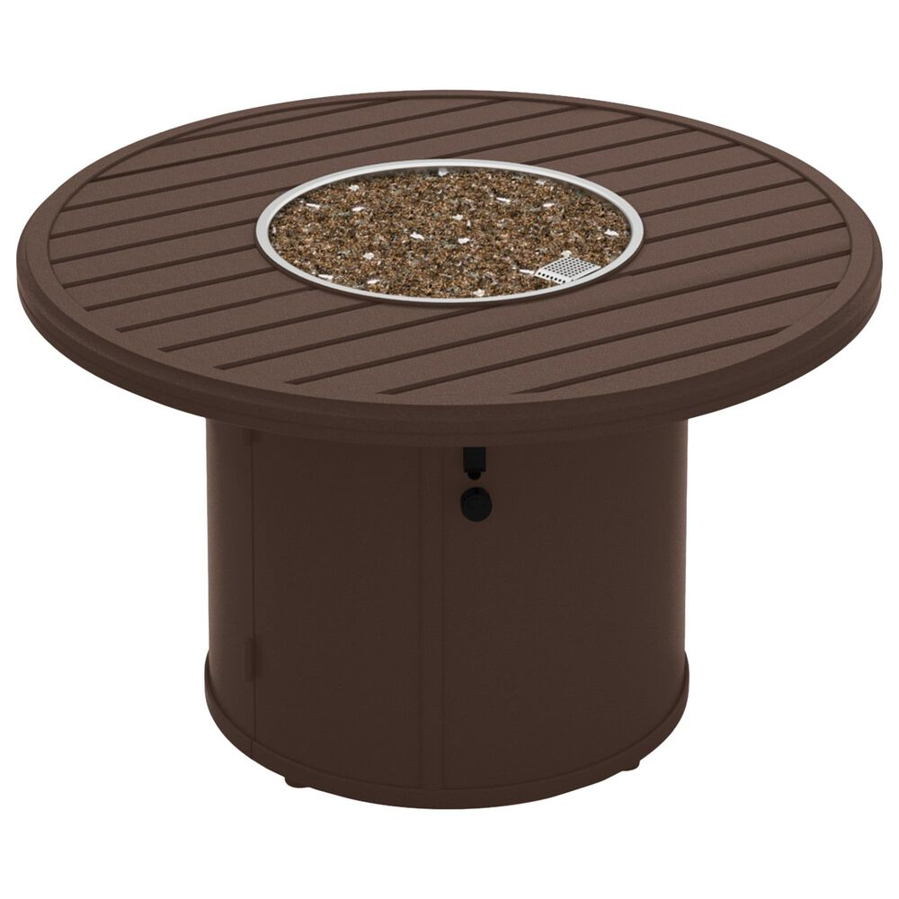 """Tropitone Banchetto 42"""" Round Fire Pit in Rich Earth, , large"""