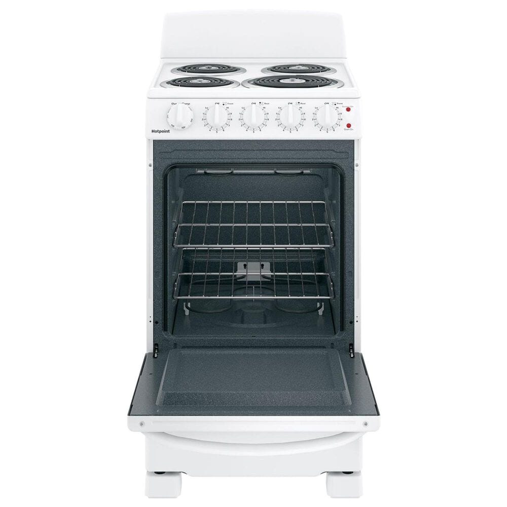"""Hotpoint 20"""" Front-Control Electric Range in White, , large"""