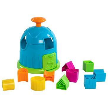 Fat Brain Toys 11 Piece Shape Factory Puzzle, , large