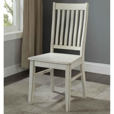 Shell Island Furniture Orchard Park Dining Chair in Orchard White Rub, , large