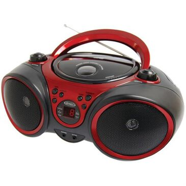 Jensen Portable Stereo CD Player with AM/FM Stereo Radio, , large
