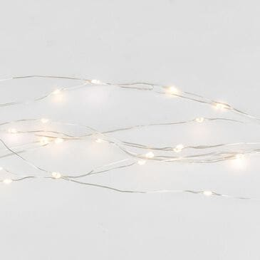 The Gerson Company 6' Twinkle Light Spray in Silver, , large