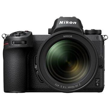 Nikon Z6 FX-Format Mirrorless Camera Body with NIKKOR Z 24-70mm Lens , , large