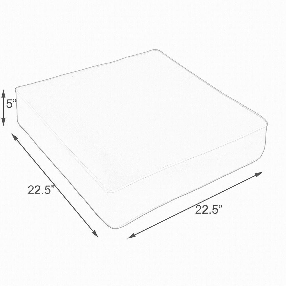 "Sorra Home Sunbrella 22.5"" Deep Seating Cushion in Spectrum Cilantro, , large"