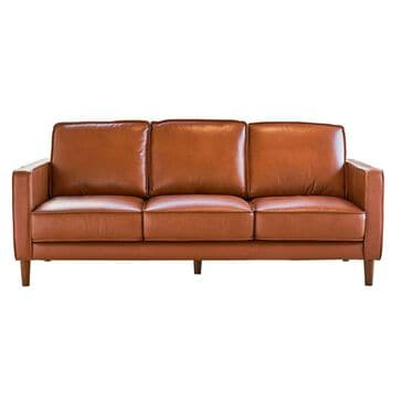 Mayberry Hill Pacer Leather Sofa in Fiero Tan, , large