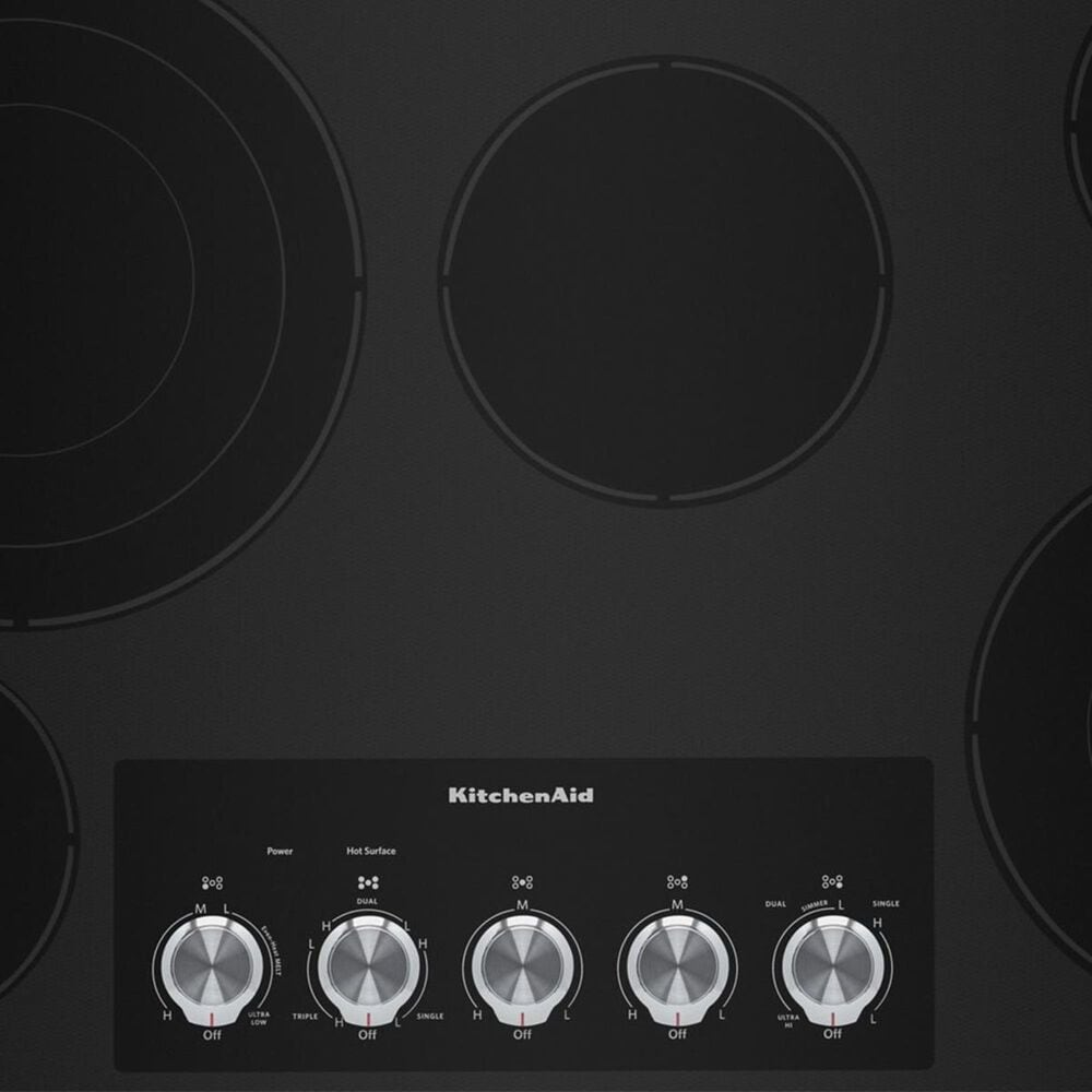 """KitchenAid 36"""" Electric Cooktop in Stainless Steel , , large"""