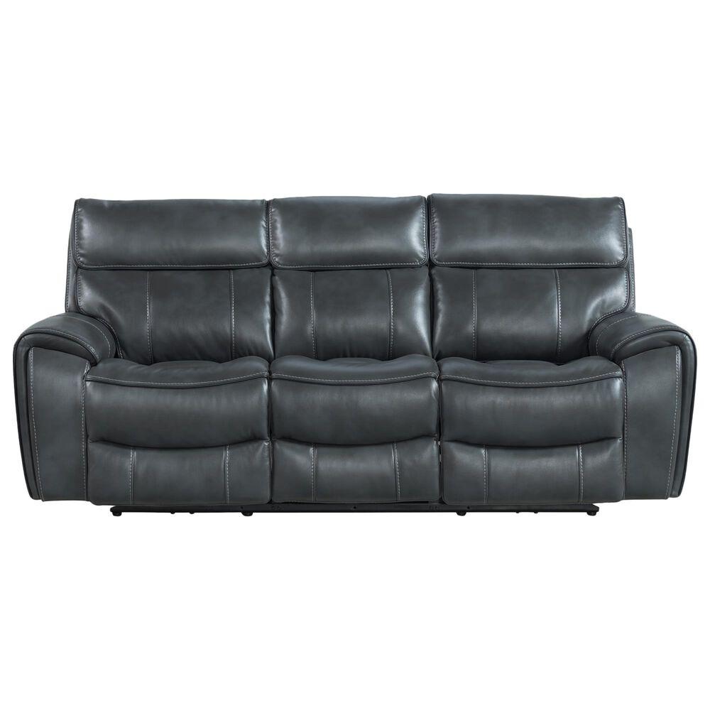 Hawthorne Furniture Summit Power Reclining Sofa with Power Headrest in Bolero Slate, , large