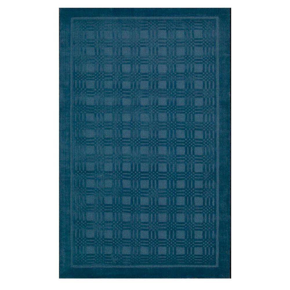 Nourison Westport WP32 5' x 8' Blue Area Rug , , large