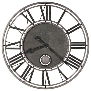 Howard Miller Marius Wall Clock in Aged Charcoal, , large
