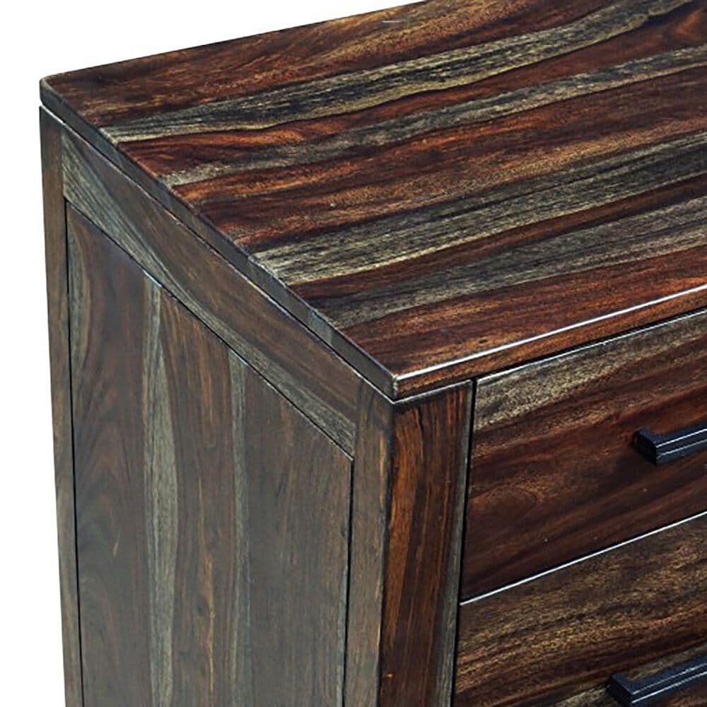 Porter Design Fall River 6 Drawer Dresser in Brown and Gray, , large