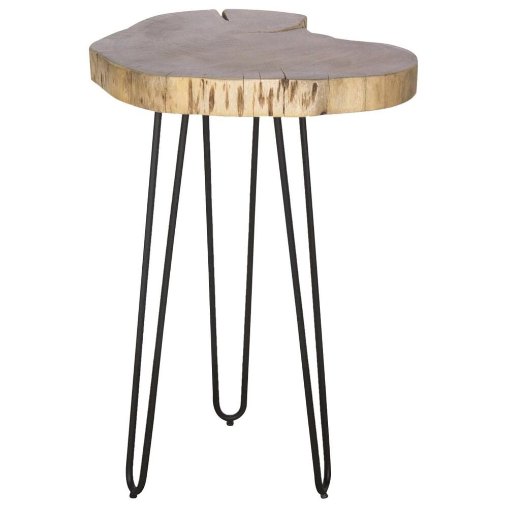 """Bolton Furniture Hairpin 20"""" Round End Table in Natural, , large"""