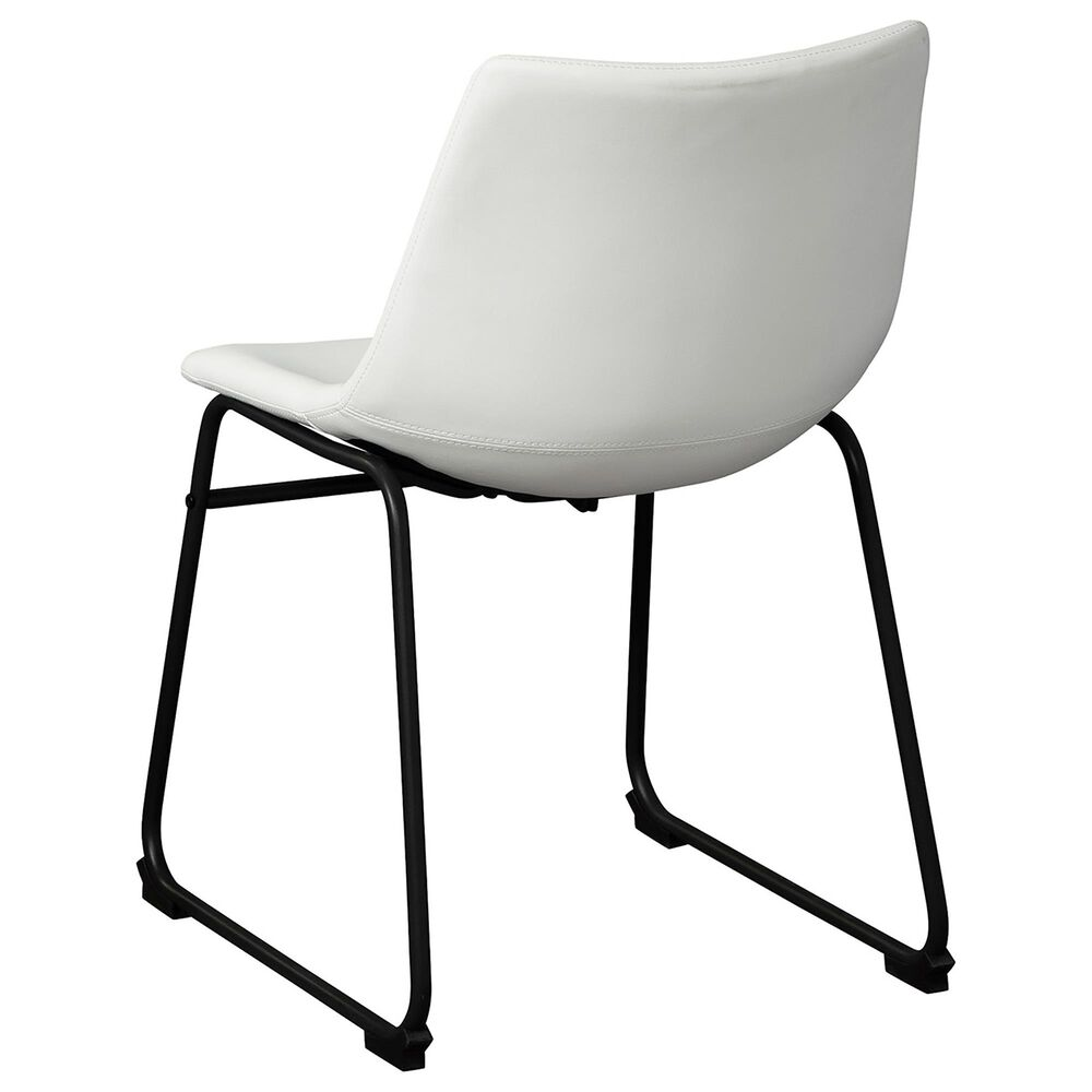 Signature Design by Ashley Centiar Side Chair in White, , large