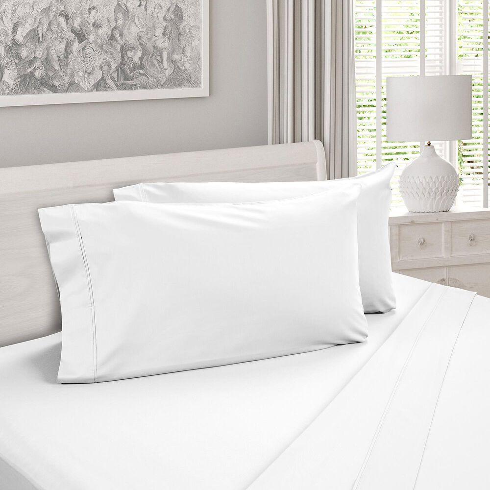 DreamFit DreamCool Degree 4 3-Piece Egyptian Cotton Twin Sheet Set in Snowflake, , large