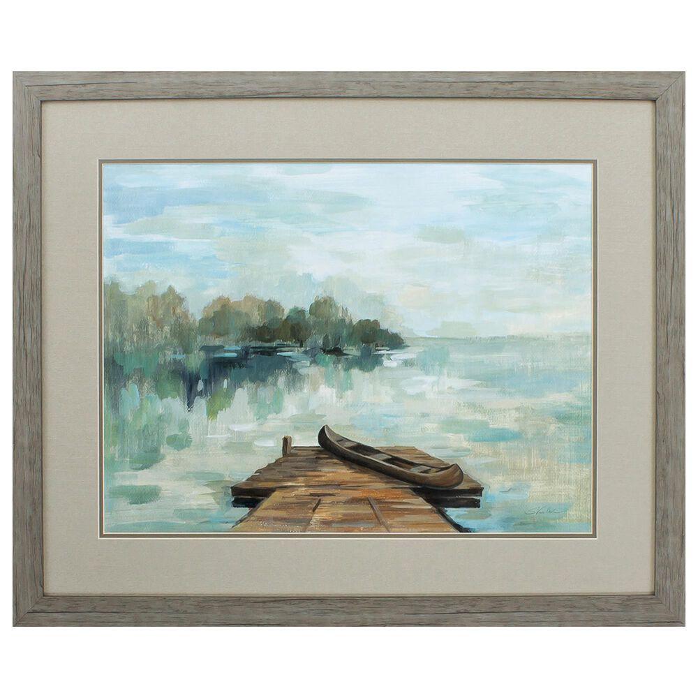"Propac ""Lakeside Retreat"" Wall Art in Blue, , large"