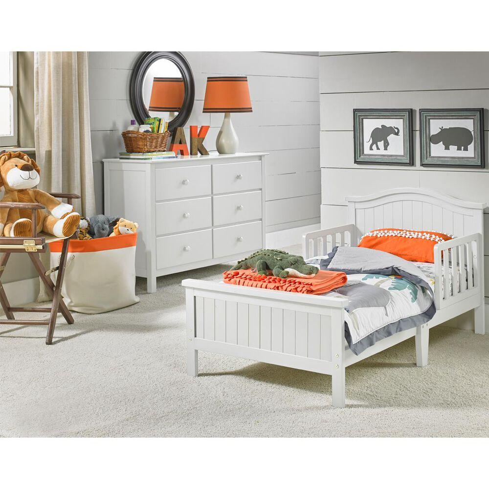 Bivona & Company Del Mar Toddler Bed in White, , large