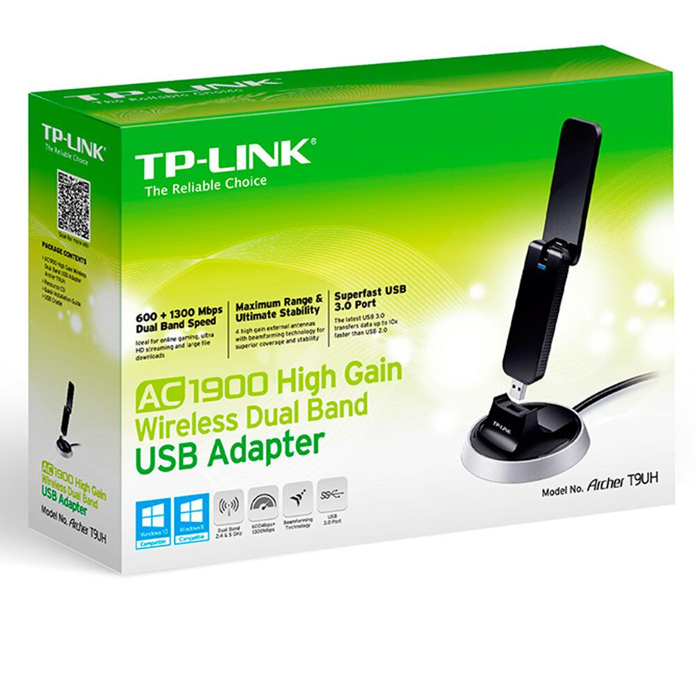 TP-LINK AC1900 High Gain Wireless Dual Band USB Adapter, , large