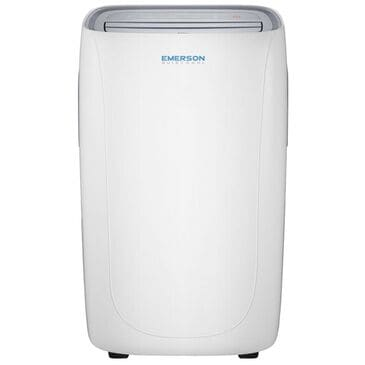 Emerson Quiet Kool 12,000 BTU Portable Air Conditioner with Remote Control in White, , large