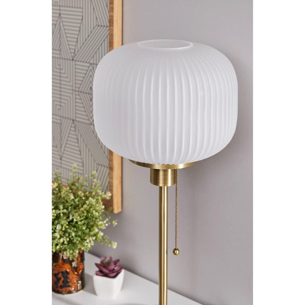 Adesso Hazel Table Lamp in Antique Brass, , large